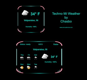 Techno Mi Weather