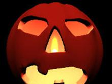 3D Halloween Pumpkin Screen Saver
