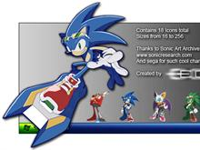 Sonic Riders Icon Set