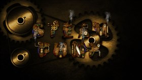 Steampunk Wall