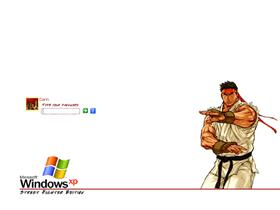 Street Fighter Logon - Ryu