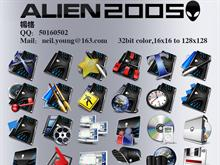 Alien 2005 Dockicon Pack