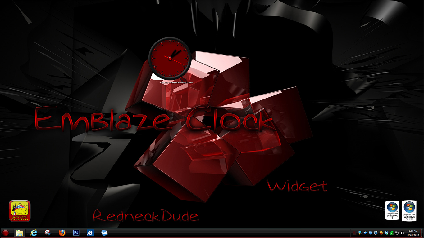 Emblaze Clock Widget