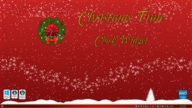 Christmas Time Clock Widget