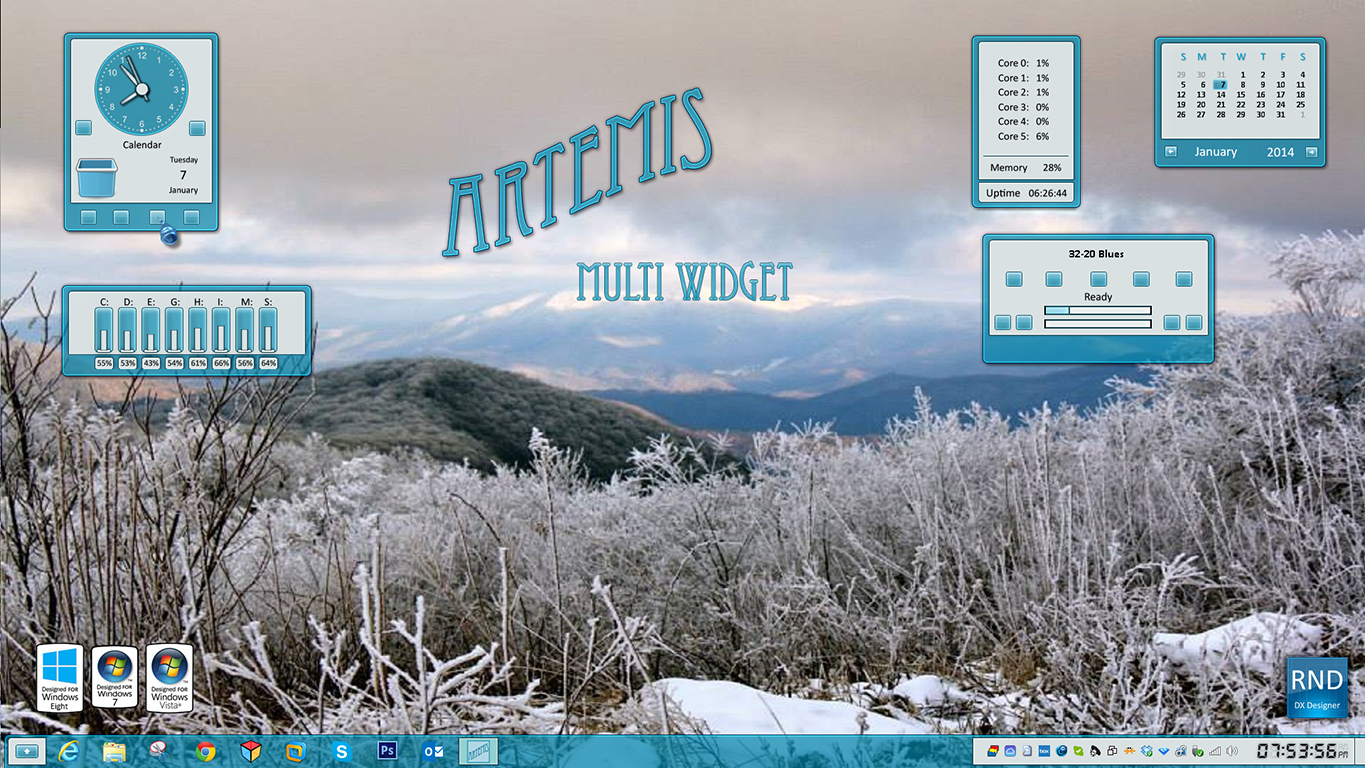 Artemis Multi Widget