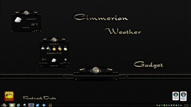 Cimmerian Weather Gadget
