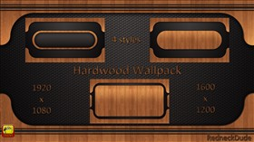 Hardwood Wallpack