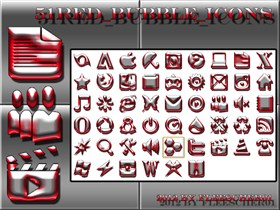 Red_Bubble_icons