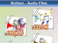 Notizen: Audio Files