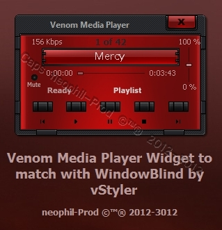 Venom-Media-Player_Widget