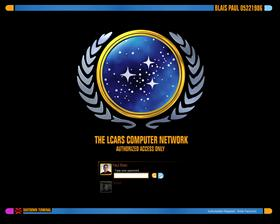 Star Trek United Federation Of Planets LCARS Logon