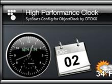 High Performance Clock for SysStats