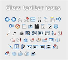 Gloss Toolbar Icons