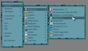Turquoise RightClick Menu