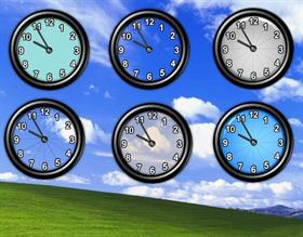 Desktop 3D Clocks