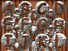 Chrome Alphabet!
