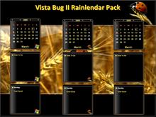 Vista Bug ll Rainlendar Pack