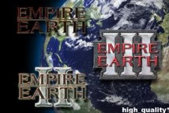 Empire Earth 1, 2, and 3