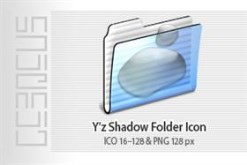 Y'z Shadow Folder Icon