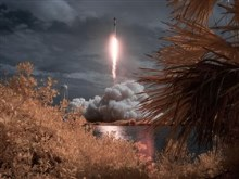 SpaceX Demo-2 Launch Infrared