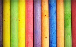 Multicolored Wood Sticks